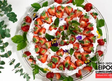 Annen-Mansikka-ricotta-marenki-kakku