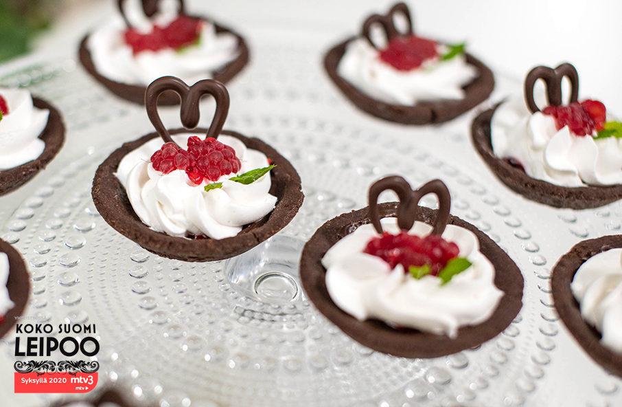 vadelma-suklaa-tartaletit
